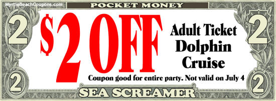 Myrtle Beach Printable Coupons